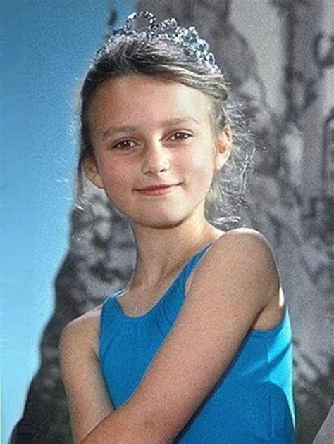 Keira Knightley As by Keira Knightley As A Kid When They Were