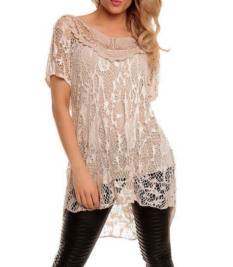Set Sleeve Lace Dress Vest crochet lace lagen look italian top vest