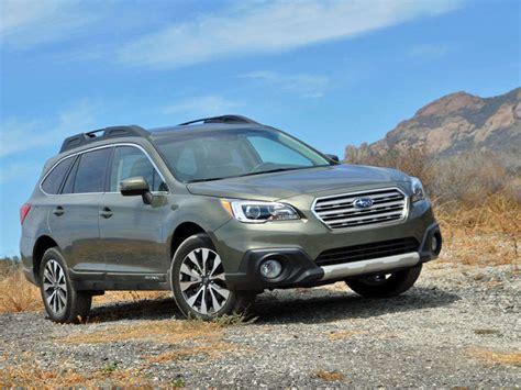 2015 subaru outback crossover suv review autobytel