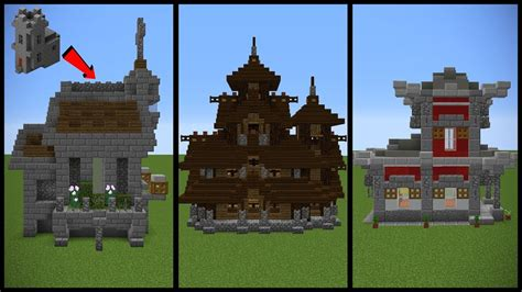 our haven transformations haunted house ideas minecraft village church transformation ideas youtube