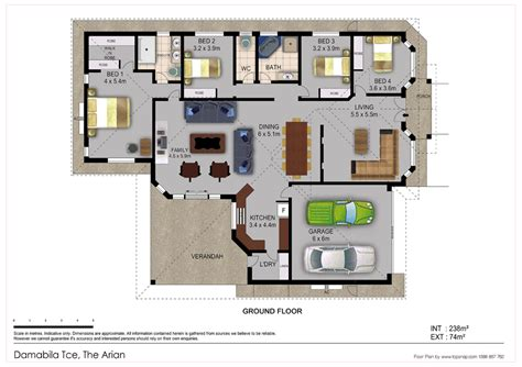 house layout furniture property floor plans