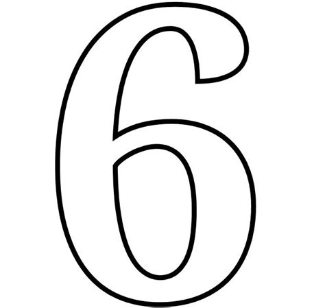 number  coloring page    clipartmag