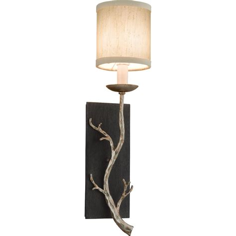 Wall Lights And Sconces Buy The Adirondack 1 Light Wall Sconce By Troy Lighting
