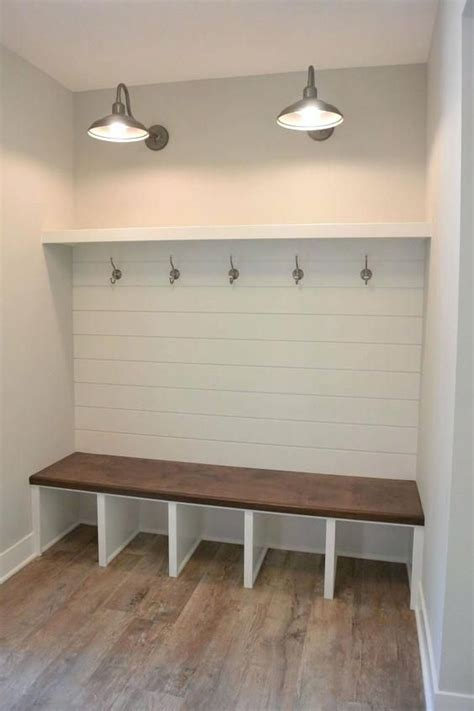laundry rooms  shiplap  accent wall ideas