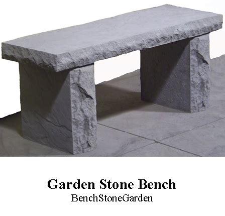 stone bench garden garden stone bench