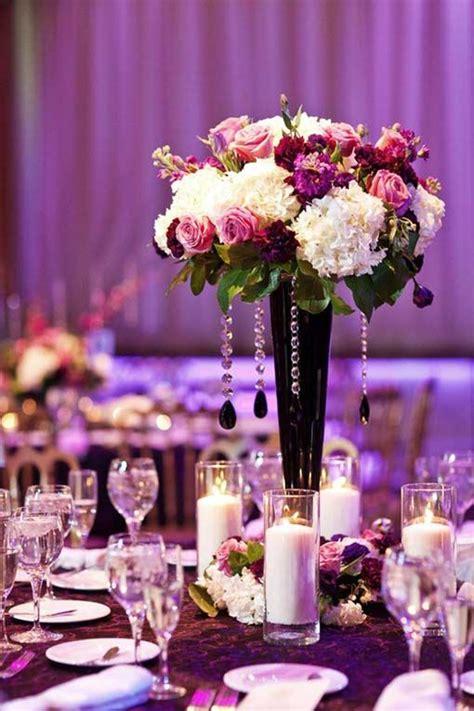 Purple Wedding Centerpieces On Pinterest Inexpensive | decorations tips purple wedding decorations cheap ideas
