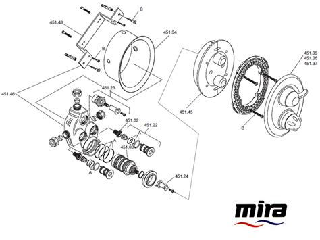 Mira Fino Shower by Mira Fino B 2002 2009 Shower Spares And Parts Mira