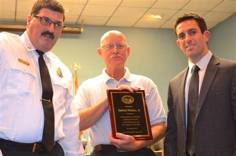 joe ayoub safety harbor safety harbor firefighter charles russell jr honored by