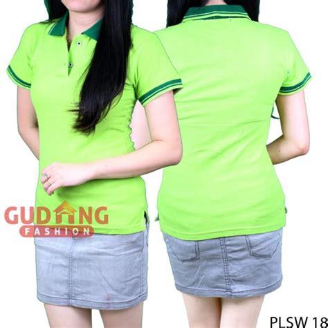 Kaos Polos Hijau Stabilo Xl polo shirts cantik wanita cotton pique hijau stabilo