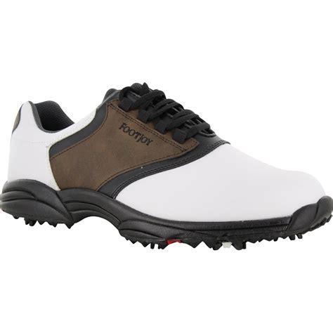 footjoy greenjoys closeout golf shoes 45516 brown nubuc