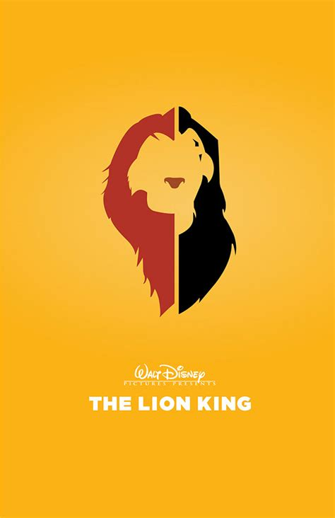printable lion king poster the lion king poster on behance