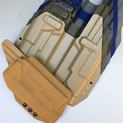 glock 19 iwb holster with light glock 17 22 iwb holster shell with streamlight tlr1 light
