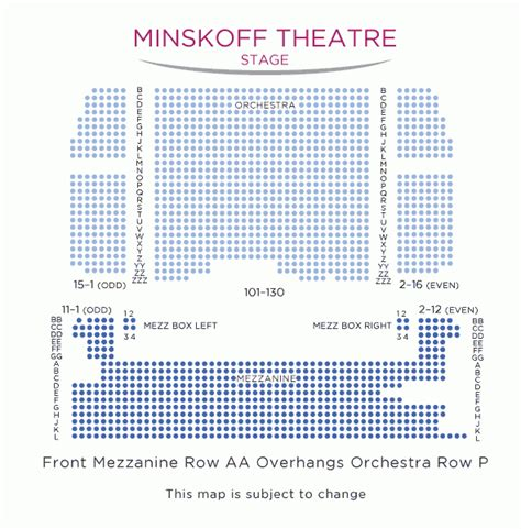 minskoff theatre seating plan new york the king broadway tickets citysights ny