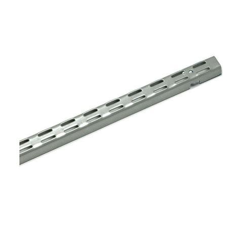 closetmaid shelftrack 84 in nickel standard 32812 the