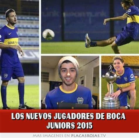 imagenes impresionantes de boca juniors los nuevos jugadores de boca juniors 2015 placas rojas tv
