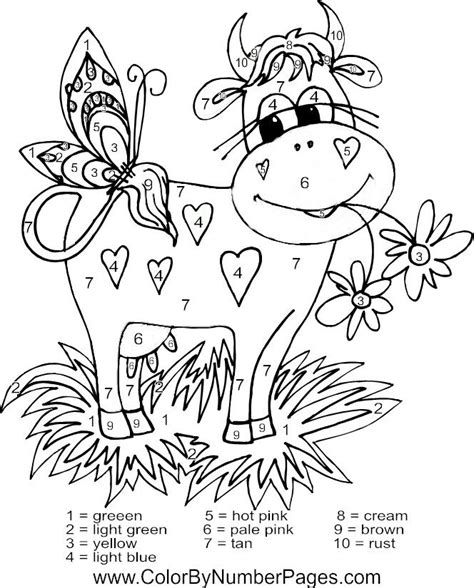 summer color by number coloring pages 127 best summer color by number images on pinterest