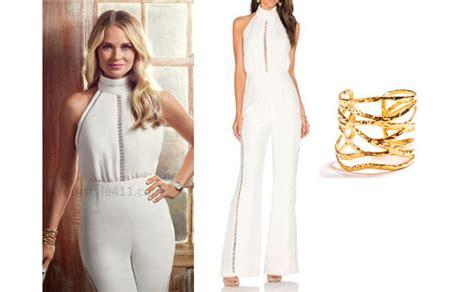 southern charm season 4 cameran eubanks white jumpsuit
