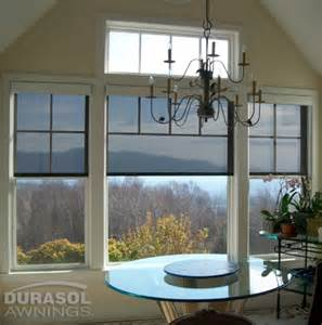 interior solar shades window works
