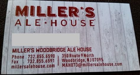 nj ale house i got a gift card did miller s ale house redeem themselves