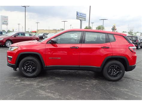 Jeep Compass Mpg 2017 Jeep Compass Sport For Sale In Decatur Il