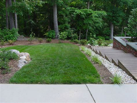landscaping steep hill backyard triyae com steep backyard ideas various design