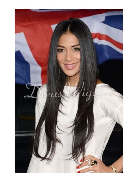 black celebrity with long straight wigs with bangs layered long straight celebrity human hair full lace wig