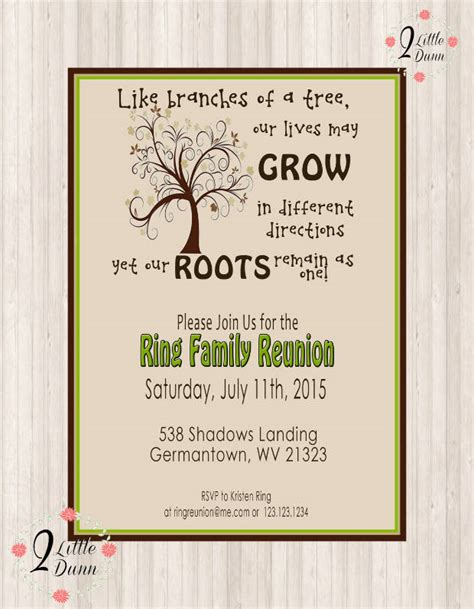 reunion invitation design vector 15 family reunion invitations printable psd ai vector