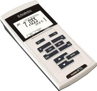 Handylab 100 Ph Meter Si Analytics by Schott Si Analytics Ph Meters