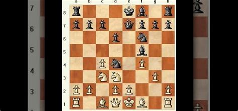 how to use a gambit in the four knights chess