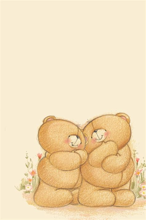 wallpaper of couple teddy bear sweet couple teddys 3g iphone wallpapers free 640x960 hd