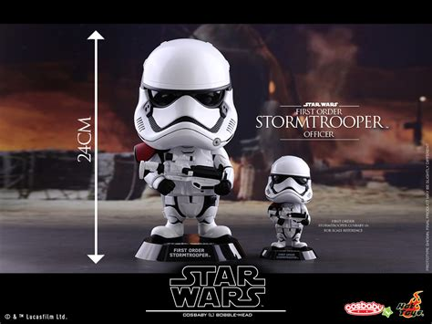 Hottoys Cosbaby Trooper Order disney plastic and plush