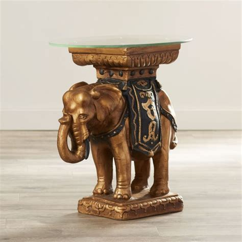 elephant accent table 50 unique end tables that add the perfect living room finish
