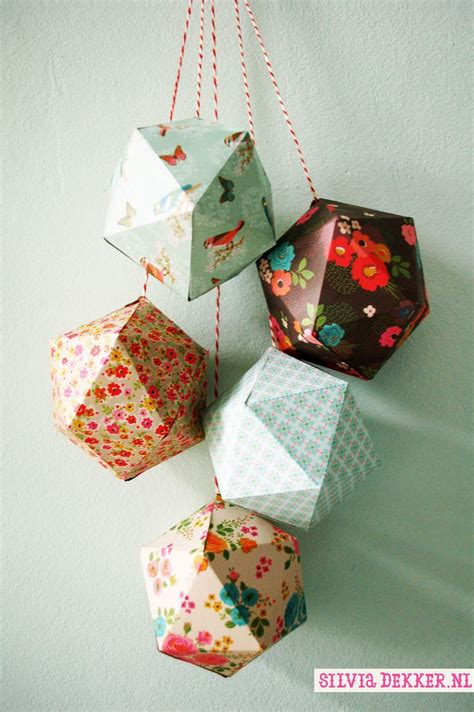 Make Paper Ornaments - attractive ornaments from paper bored