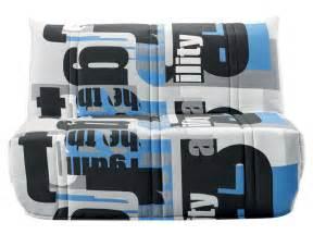 banquette bz en tissu elea coloris bleu vente de