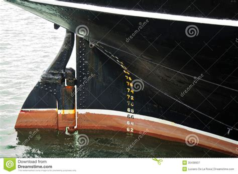 stern boat rudder old stern of ship with and rudder stock image image of