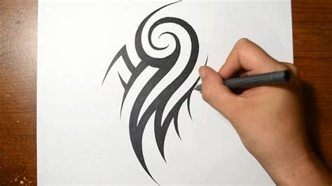 Cool Things To Draw On Ur Arm by How To Draw A Cool Tribal Arm Design