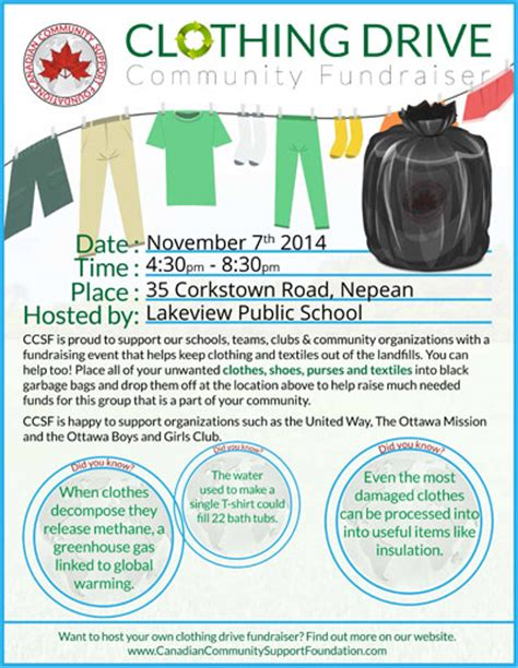 used clothing drive fri nov 7 4 30 8 30pm lakeview