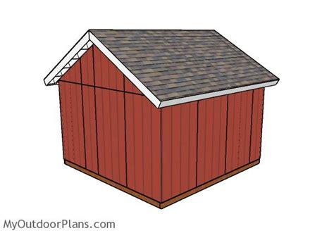 14x14 shed doors plans myoutdoorplans free woodworking