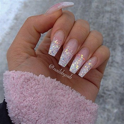 Glitter Nail by Just Wish The Length Was Shorter And More Wide At