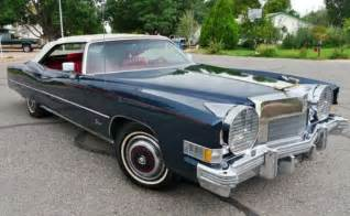 Superfly Cadillac For Sale 1974 Cadillac Eldorado Classic Convertible Coupe W 500ci