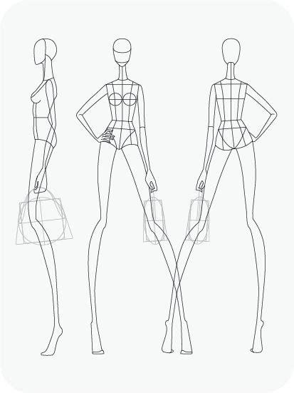 fashion designer drawing template 41 best printable templates fashion figure templates
