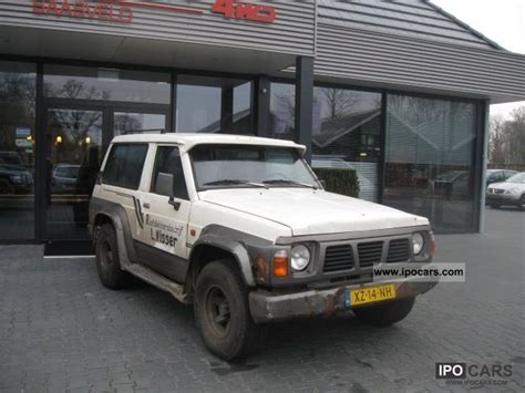 nissan patrol 1990 off road 1990 nissan patrol 2 8 td 3drs hardtop car photo and specs