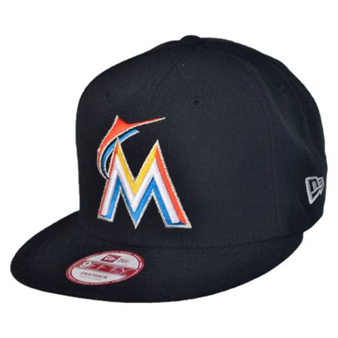 new era miami marlins mlb 9fifty snapback baseball cap mlb