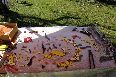mosaikwaschtisch handmade kultur