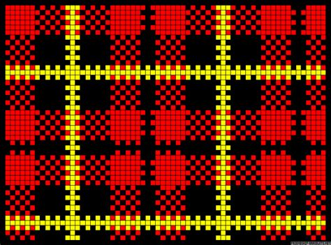 plaid tartan perler bead pattern cool crafts
