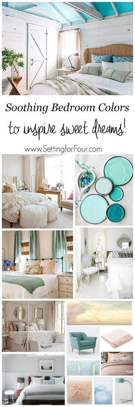 soothing color schemes soothing bedroom color schemes setting for four