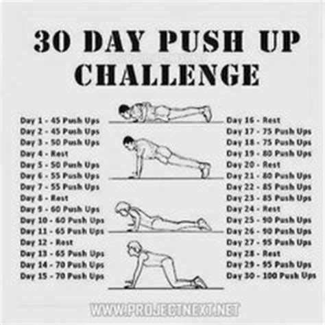 30 day bench press challenge 1000 images about upper body exercises on pinterest