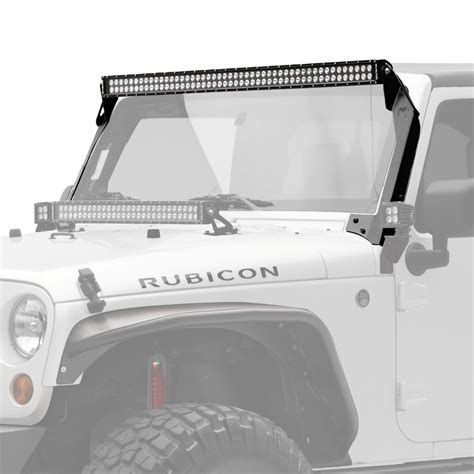 jeep light bar mount jeep light bars light mounting solutions kc hilites
