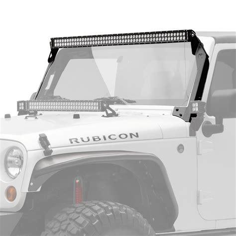 50 led light bar jeep jk 50 quot c series c50 led bar overhead mount bracket kit
