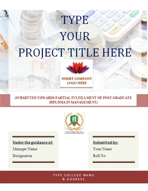 design of cover page for project how to create cover page letters for resumes or projects